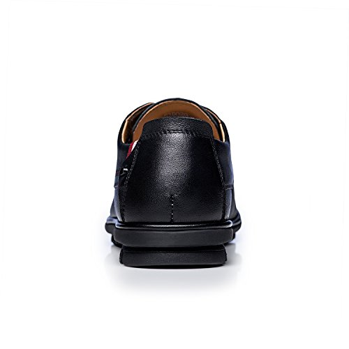Mens ZRO Casual Lace Black Comfortable ZRO Mens Business Up Shoes PwEHSqd
