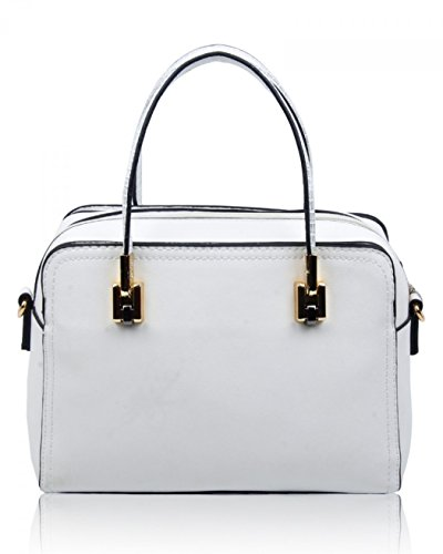 Handbags Nice Small White Cw160905 Bag Bags Tote Great Grab Leahward Shoulder Women's Ix68pRwg