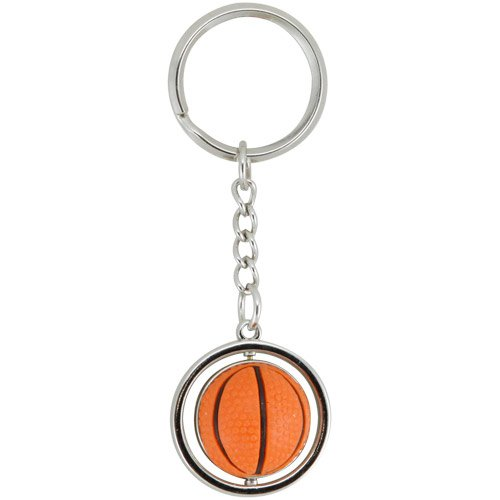 NBA San Antonio Spurs NBA-KT-827-20 Spinning Keychain, One Size, Multicolor by aminco