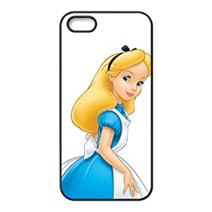 Alice in Wonderland iPhone 4 4s Cell Phone Case Black DIY Gift pxf005_0284951