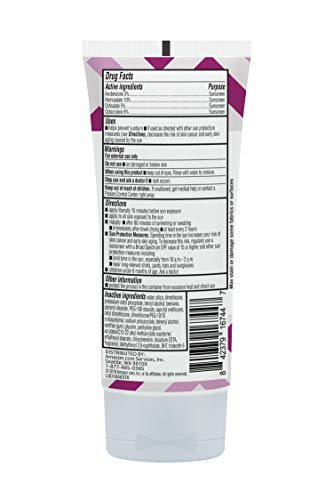 Amazon Brand – Solimo Sheer Face Sunscreen SPF 30, Reef Friendly (Octinoxate & Oxybenzone Free), 3.0 Fluid Ounce