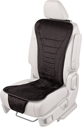 AirFlex 60-272005 Lumbar Full Seat Auto Cushion with Fixed Air Compression, Black - Plush Leather Match Upholstery