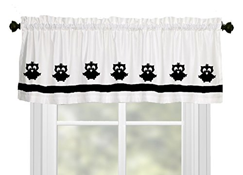 Owl Owlet Baby Owl Nursery Window Valance / Window Treatment
