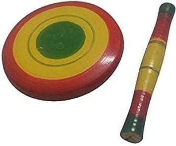 Beautiful Miniature Wooden chakla belan Set 1