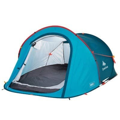 Quechua 2 Seconds Waterproof Pop Up Camping Tent 3 Man