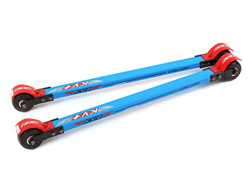 KV+ Launch Classic Roller Skis (73 cm) (Slow wheels)