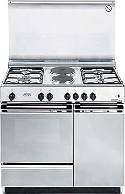 De Longhi SEX 8542 N ED - Cocina de gas con horno eléctrico (4 ...