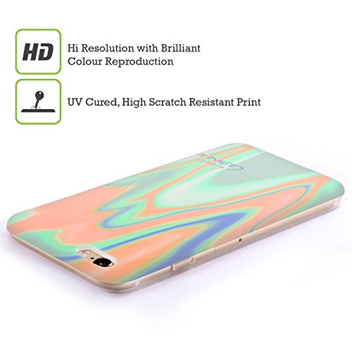 Official Cosmopolitan Mint Peach Iridescence Soft Gel Case for Apple iPhone 6 / 6s