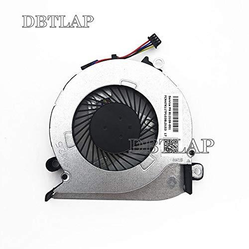 DBTLAP New Laptop CPU Cooling Fan for HP Pavilion 15-AB121DX 15-AB 812109-001 15Z-a 17-G 17-G015DX 15-A AB06905HX08KB00 812109-001 Fan