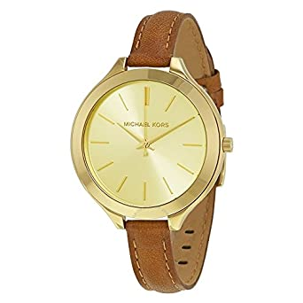 b70ffe9e434e Image Unavailable. Image not available for. Color  Michael Kors Women s  Slim Runway Gift Set Watch MK2606