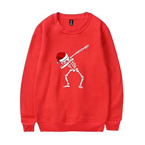 Harpi 2018 Christmas Couples 3D Santa Printing Women Men Plus Size Sweatshirt,Autumn Winter O Neck Long Sleeve Blouse Tops