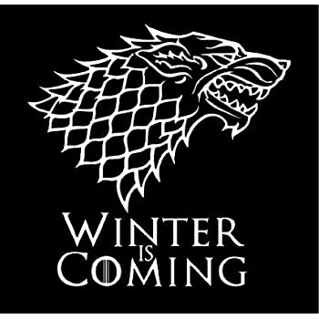 Amazon Com White Stark Direwolf Winter Is Coming Game Of Thrones
