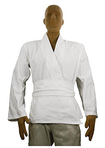 Men's Jedi Sith Tunic Costume Adult (Large, White) (Dark Jedi Costume)