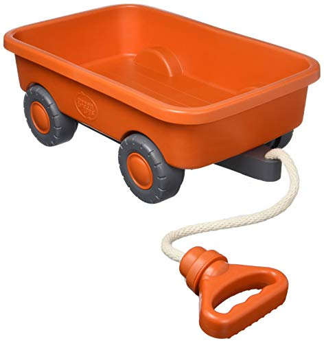 Green Toys WAGO-CB Wagon – Orange Closed Box