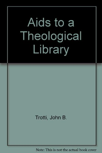 Aids to a theological library (Library aids)