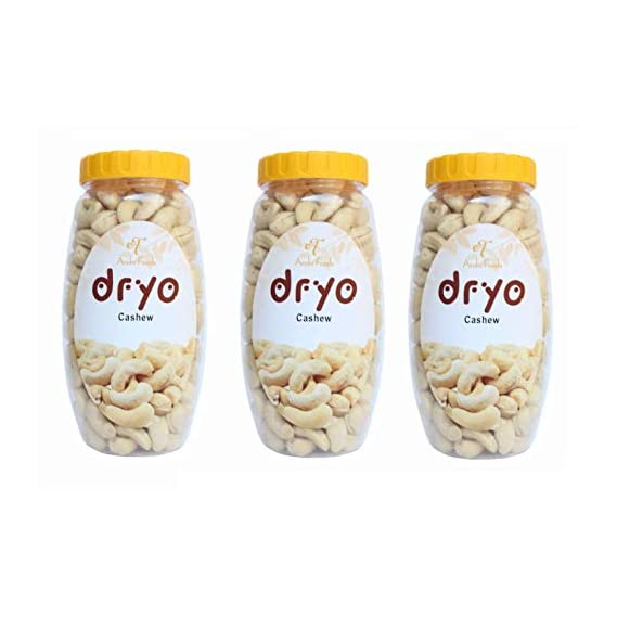 Dryo Premium and Healthy Combo Pack Cashew Nuts (Pack of 3)