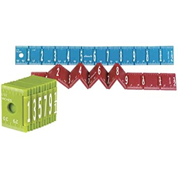 Foldable Ruler, Package of 24