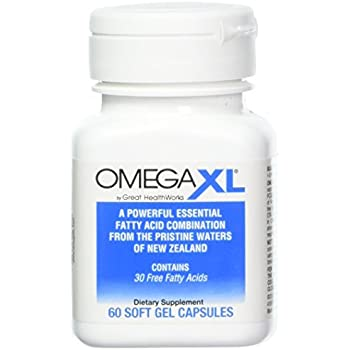 Omega xl omega 3 super oil with 22 times for Does fish oil help with joint pain