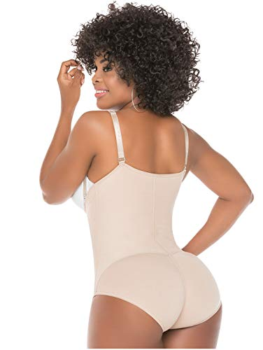 12eefb6144 Salome 418 Backless Body Shaper Strapless Postpartum Fajas Colombianas  Postparto
