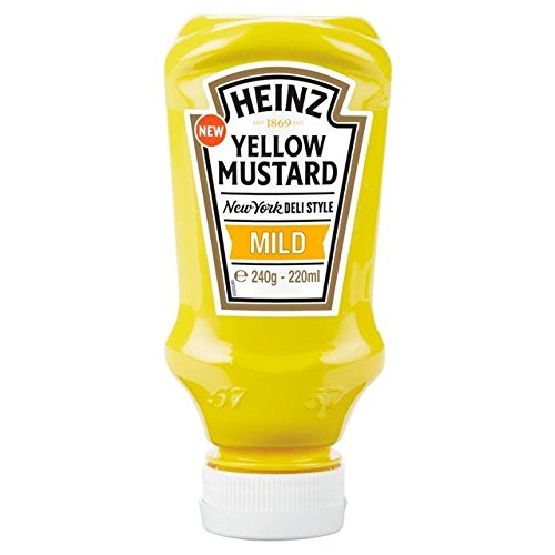 - Heinz Yellow Mustard Mild - 220ml (7.44fl oz)