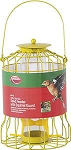 Ambassador Wild Birds Forro columna con ardilla de protección