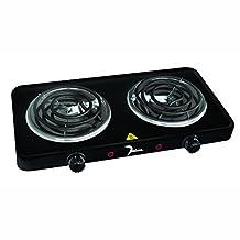 Dominion D1002 1500-Watt Double Coil Burner, Black