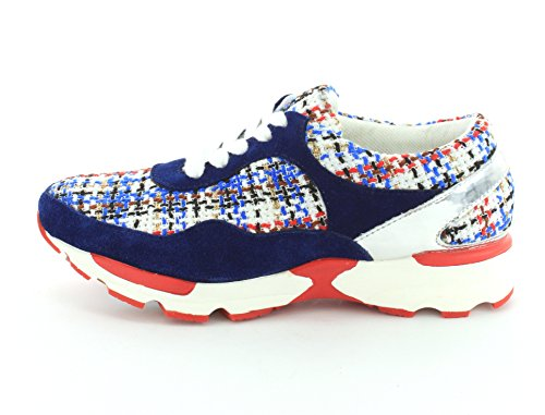 Jeffrey Campbell Women Run Walk Sneakers Blu