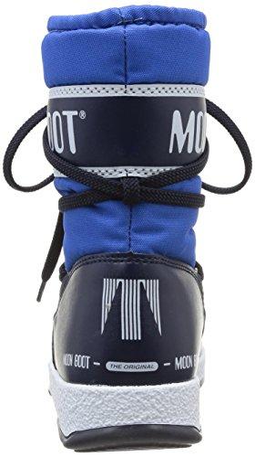 Jr Navy Homme Boot Bleu e azzurro blue Navy W Mid Taille Sport Moon X4xRFq