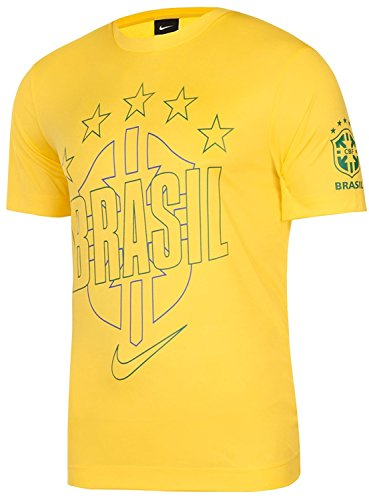 Brazil Yellow T-Shirt 2010 ()