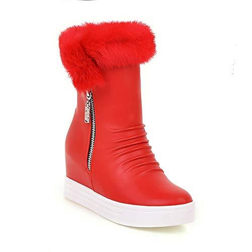 Spesso Spesso Donna Invernali Invernali Scarpe Caldi XQY in da Donna da Fondo Stivali Stivali con Inverno Stivali 43 Stivali da 36 Neve Donna da Stivali negli Rosso Aumento delle ww7ZgX