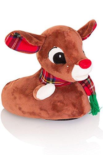 Rudolph The novità Boutique Pantofole Loungeable Donna 3D Reindeer Unicorn HBYwq0