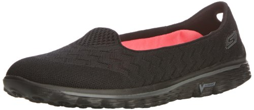 Skechers Performance Women's Go Walk 2 Axis Slip-On Walking Shoe,Black,8 M US