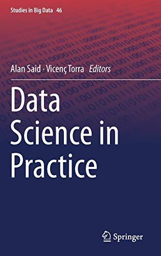 Data Science in Practice (Studies in Big Data)
