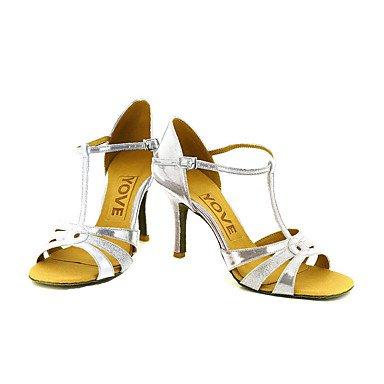 XIAMUO Anpassbare Frauen Beruf Tanz Schuhe, Golden, US 9.5-10/EU 41/ UK 7,5-8/CN 42