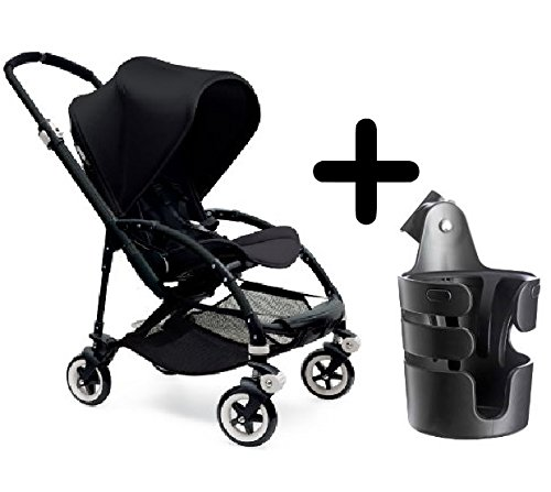 Bugaboo Bee3 Stroller, Black/Black + Bugaboo Cup ()