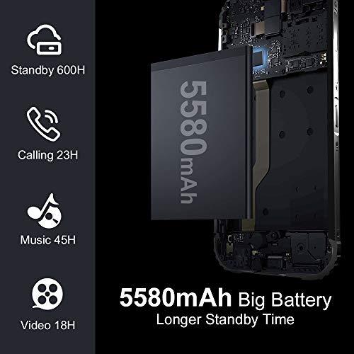 Telephone Portable Incassable, Blackview® BV5900 Smartphone Débloqué 4G (5.7Pouces, 3GO+32GO, Batterie 5580mAh, 13MP+0… 4