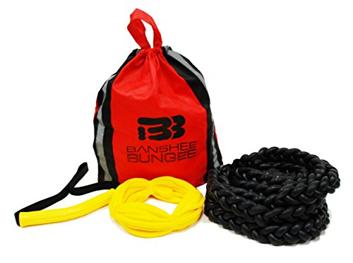30' Handle (Banshee Bungee 10 Foot Board Bungee Package(includes handle, 30' lead line and carry bag))