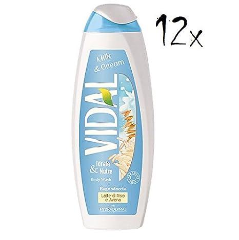 12 x Vidal Milk & Cream con leche de arroz & Avena Espuma ...
