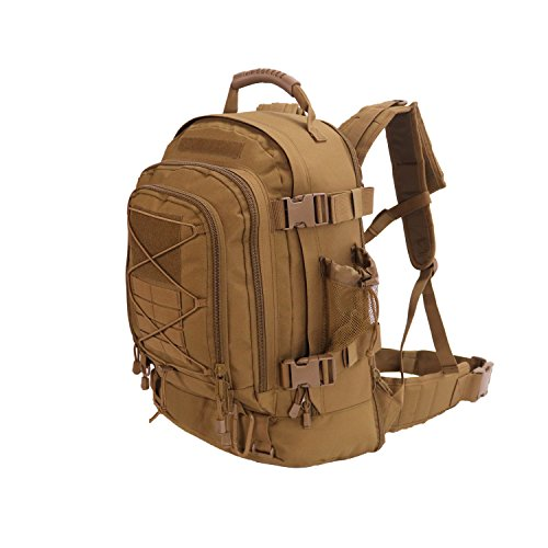 (ARMYCAMOUSA 40L - 64 L Outdoor 3 Day Expandable Backpack for Gym Sport Hiking Camping Trekking Travel Military & Tactical,Bug Out Bag )