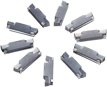 耐久性のある10個のMGMN400-M超硬4.0mm溝切りカットオフホルダー(MGEHR MGIVR用)旋削工具ボーリングバーアタッチメントツールアクセサリー