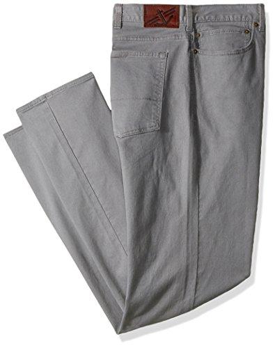 Big And Tall Cotton Jeans (Dockers Men's Big & Tall Jean Cut Pants, Burma Grey, 52 30)