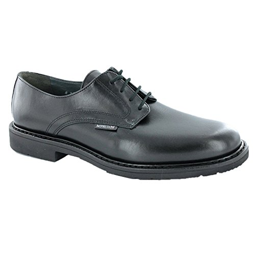 Mephisto Mens Marlon Leather Shoes Black