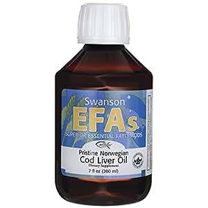 Swanson pristine norwegian cod liver oil 7 fl for Cod fish walmart