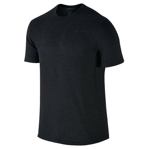 Ss Da Maniche Dri Corte nero A fit maglietta Uomo Nero Nike Cool qt1Fn8