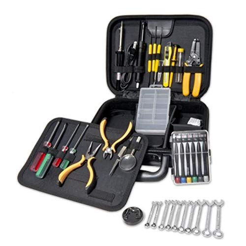 SkilledPower Accessory Work Station Repair Tool Kit with Roomy Case Space for More Tools Com