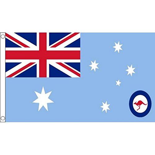 AZ FLAG Australia RAF Ensign Flag 3' x 5' - Australian Royal Air Force Flags 90 x 150 cm - Banner 3x5 ft (Australia Cheap Furniture Outdoor)