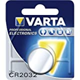 Varta 10VACR2032 Professional CR2032 lithium-batteries (3V, 10 pack)
