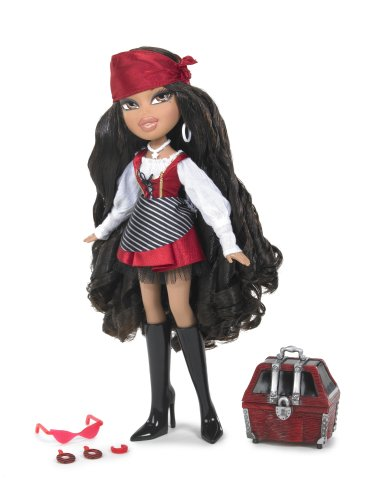 Bratz Passion for Self-Expression Costume Party Series - Yasmin as Pretty Pirate with Treasure Chest and Accessories]()