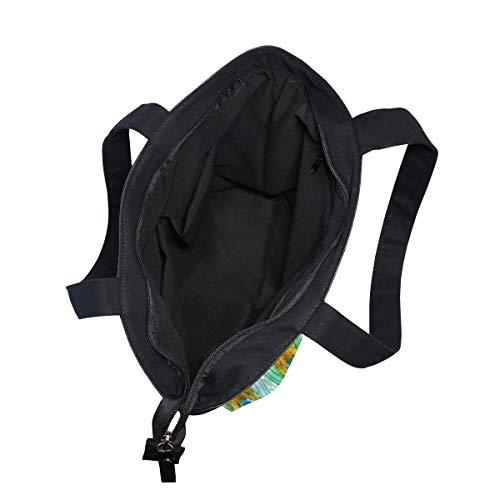 001 Para Bennigiry Multicolor Talla Bolso Tela Totalbag De Mujer Única 1AxRP5n