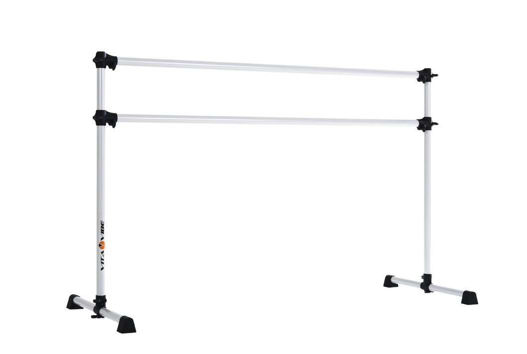 Stretch//Dance Bar 5-Feet Vita Vibe BD60 Prodigy Series Portable Double Freestanding Ballet Barre